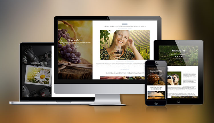 Seasonal Pro Photography WordPress Theme