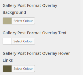 gallery post colours