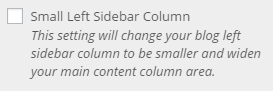 blog left column size