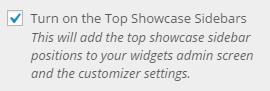 enable showcase top