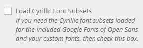 type load cyrillic