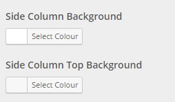 column colour options