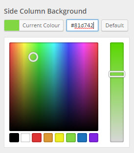 morphology colour selectors