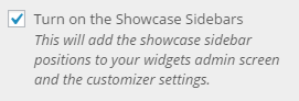 showcase enable