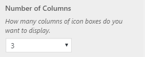 fp iconbox column count