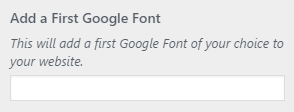 setting type add google
