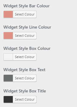 setting widget colours