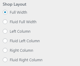 setting woo shoplayout