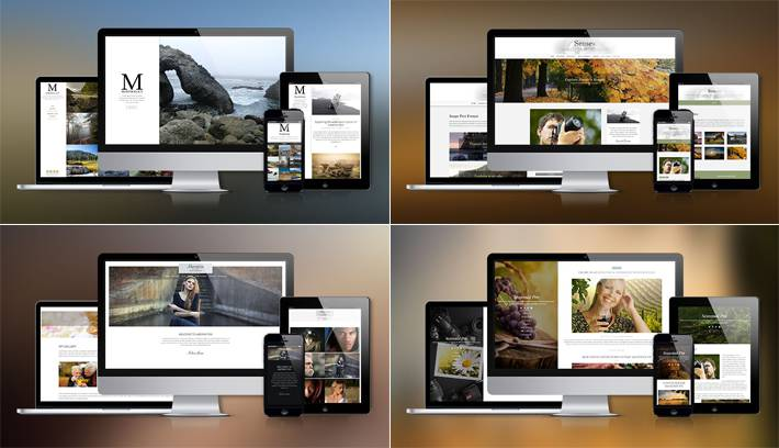 Simple to use Portfolio WordPress Themes for Photographers